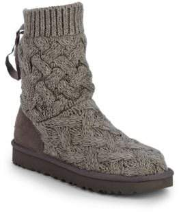UGG Isla Knit Sweater Boots