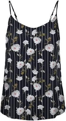 Vero Moda Simply Floral-Print Singlet Top
