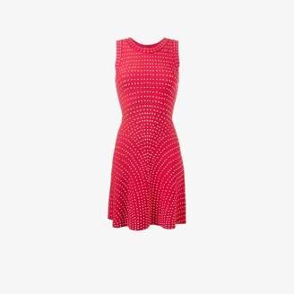 Alaia micro dot dress