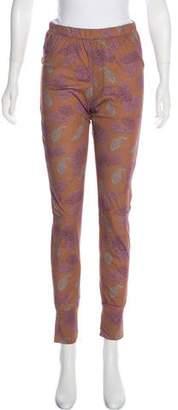 Dries Van Noten Printed Skinny Pants