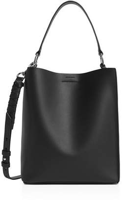 AllSaints Voltaire Small Leather Tote