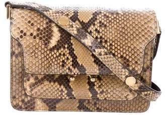 Marni Trunk Mini Python Crossbody Bag