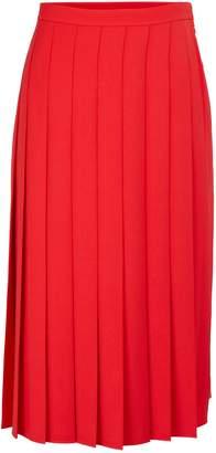 Burberry Farrah pleated midi-skirt