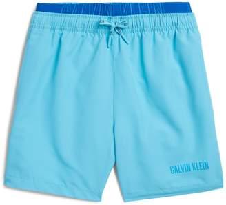 40e25b1d7c Calvin Klein Double Waistband Swim Shorts