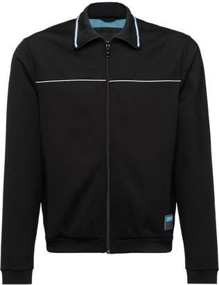Prada Technical fleece jacket