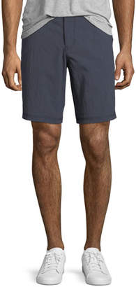 John Varvatos Triple-Needle Cotton-Twill Shorts