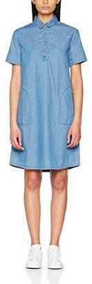 Cross Women's Dress, (Light mid Blue Used 007), (Size XL)