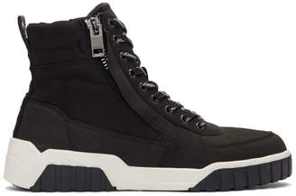 Diesel Black S-RUA MC Sneakers