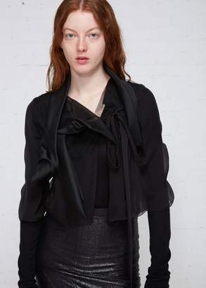 Rick Owens Glitter Wishbone Jacket