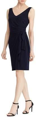 Lauren Ralph Lauren Petites Shirred Jersey Dress