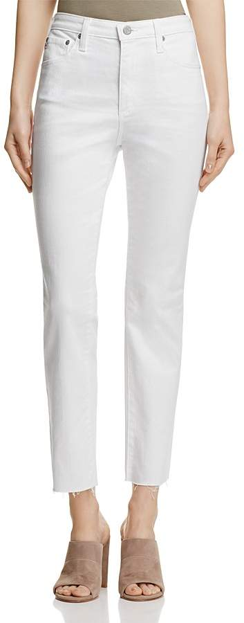 AG JeansAG Isabelle Straight Jeans in 1 Year White