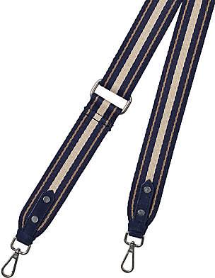 White Stuff Stripy Bag Strap, Blue/Beige