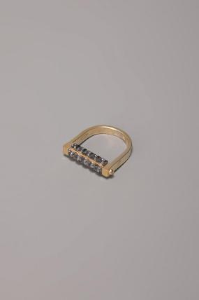 A.L.C. Handcuff Ring Brass