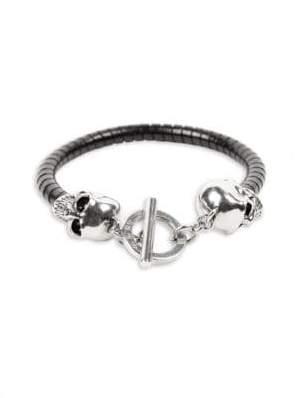 Alexander McQueen T-Bar Skull Bracelet