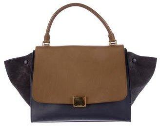 CelineCéline Bicolor Medium Trapeze Bag
