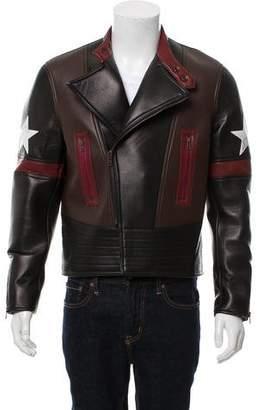 Givenchy 2016 Lambskin Biker Jacket