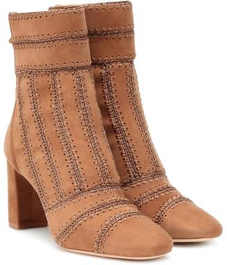 Alexandre Birman Beatrice suede ankle boots