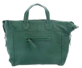 Jerome Dreyfuss Pebbled Leather Larry Tote