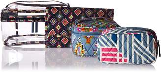 Vera Bradley Travel Cosmetic Set