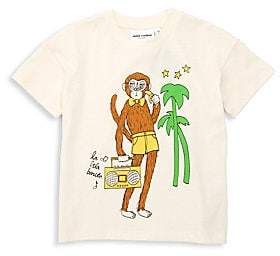 Mini Rodini Little Boy's & Boy's Organic Cotton Cool Monkey Tee