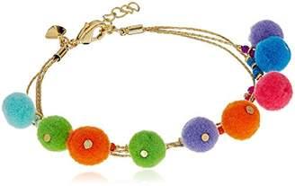 Rebecca Minkoff Savanna Pompom Bracelet