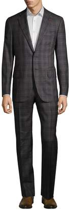 Isaia Men's Checkered Wool Suit