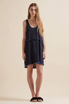THE FIFTH FRONT ROW SINGLET DRESS deep blue