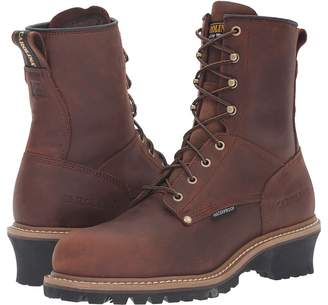 Carolina Elm Waterproof Plain Toe Logger ST CA9821 Men's Work Boots