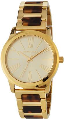 MICHAEL Michael Kors 38mm Hartman Two-Tone Bracelet Watch