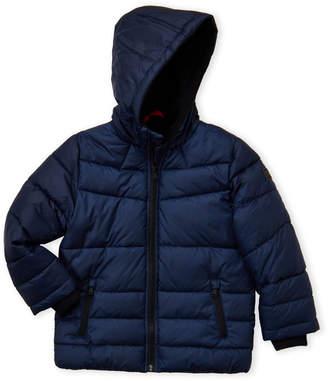 Michael Kors Boys 4-7) Hooded Fleece Puffer Jacket