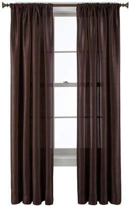 Royal Velvet Britton Rod-Pocket Curtain Panel