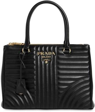 Prada Medium Quilted Soft Leather Bag
