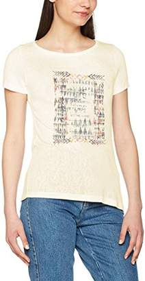 Only Women's Onlpiper S/s Unplugged/Life Top Box Ess T-Shirt,34 (Manufacturer Size: )