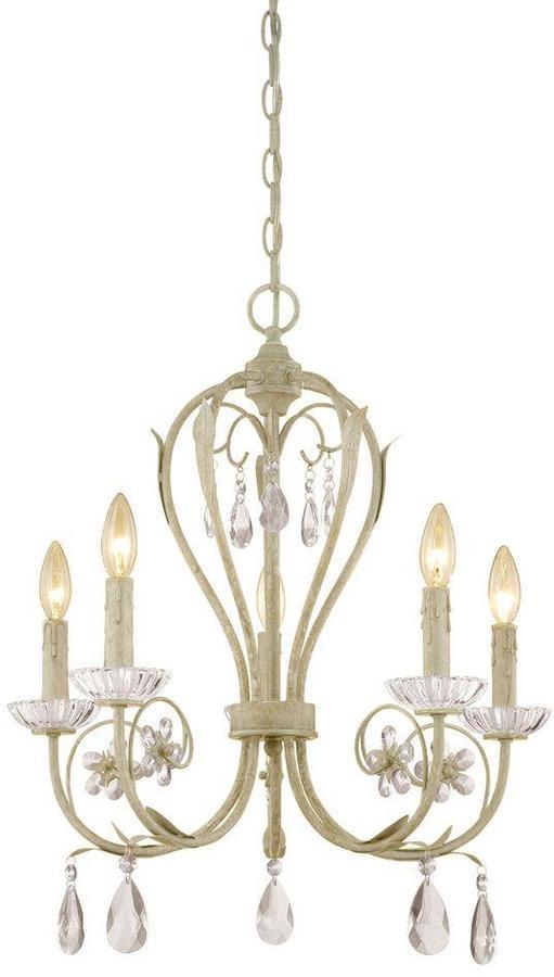 Millennium Lighting 5-Light Antique White Chandelier