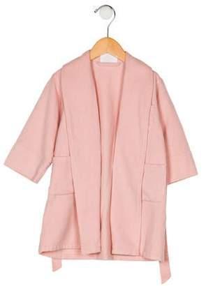 Hermes Girls' Wool Robe
