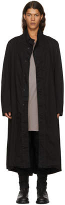 Julius Black High Neck Coat