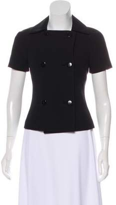 Michael Kors Short Sleeve Structured Jacket