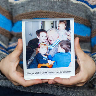 a.musing Personalised Photo Acrylic Block For Grandparents