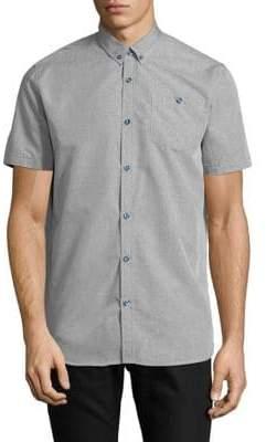Point Zero Short-Sleeve Sport Shirt
