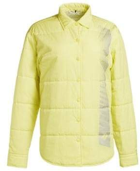 Washed Nylon Collared Jacket