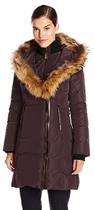 Mackage Women's Kay Down Coat with Fur Trim Hood $558.72 thestylecure.com