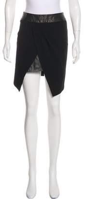 Willow Virgin Wool Asymmetrical Skirt