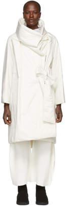 Issey Miyake White Square Coat