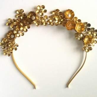 Belle Epoque La Gold Crown Bridal Headpiece