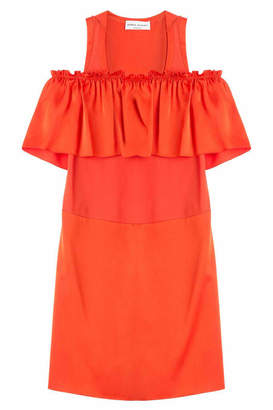 Sonia Rykiel Dress with Ruffled Bardot Neckline