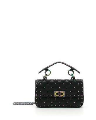 Valentino Oil Slick Rockstud Shoulder Bag