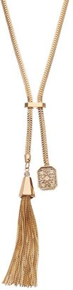 Jennifer Lopez Tassel Lariat Necklace $34 thestylecure.com