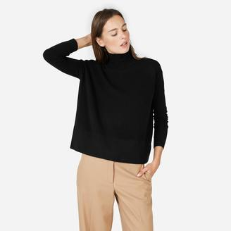 The Cashmere Square Turtleneck $150 thestylecure.com