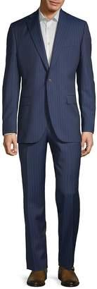 Jack Victor Men's Esprit Striped Wool Suit