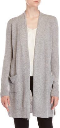Ply Cashmere Cashmere Longline Open Cardigan